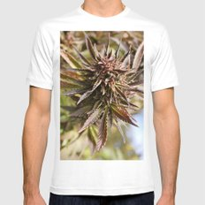 Sour Grape. MEDIUM Mens Fitted Tee White