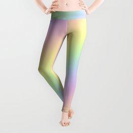 Pastel Goth Rainbow Leggings
