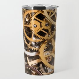 Cogwheels background Travel Mug