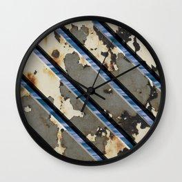 Rusted Boardwalk Wall Clock