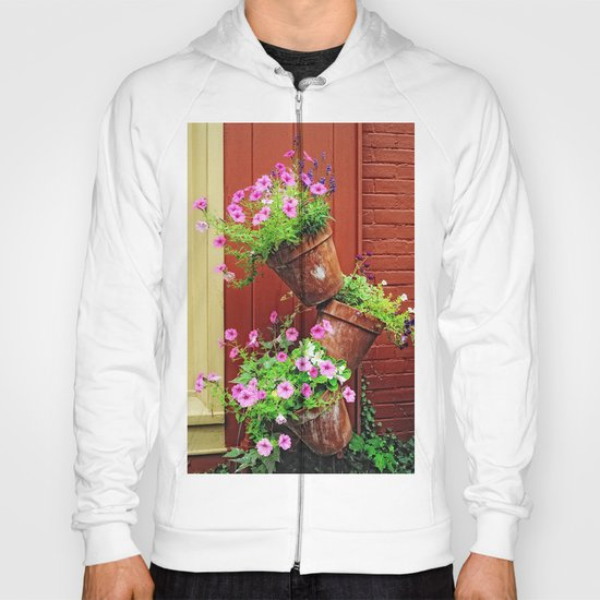 Potted Petunias Hoody
