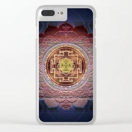 Sensual Flow Lakshmi Meditation Mandala Clear iPhone Case