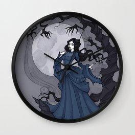 Annabel Lee I Wall Clock