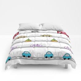 City travel Comforters