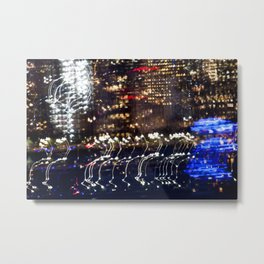 City Circuit Metal Print
