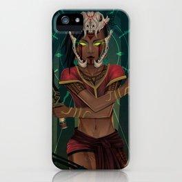Ynaguinid the Poison Goddess iPhone Case