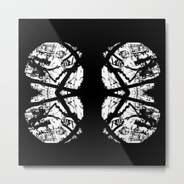 Butterfly Lungs Metal Print
