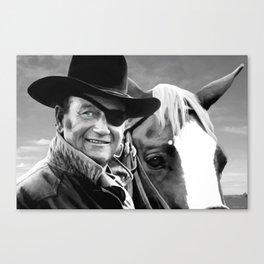 John Wayne @ True Grit #1 Canvas Print