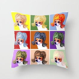 POP Art Graphic Throw Pillow