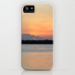 another sunset from Topsail iPhone Case