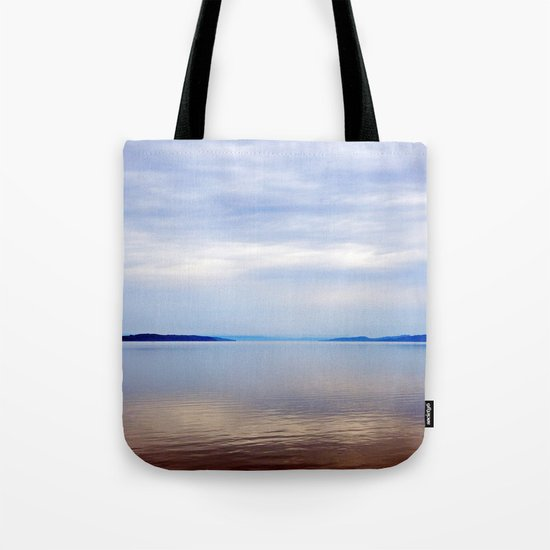 Matapedia River Mouth Tote Bag