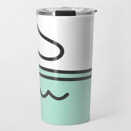 Merkitty Mint Green Travel Mug