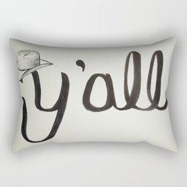 Y'all Rectangular Pillow
