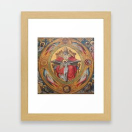 Cologne Cathedral - Altar of the Poor Clares Framed Art Print