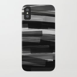 Black Stripes iPhone Case