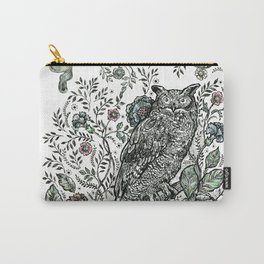 Spirit Animal: Owl. Carry-All Pouch