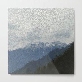 snow valley Metal Print