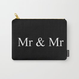 Mr & Mr Monogram Simple Carry-All Pouch