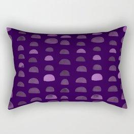 Hills - Plum Rectangular Pillow