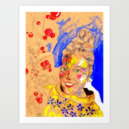 Smile 1 Art Print