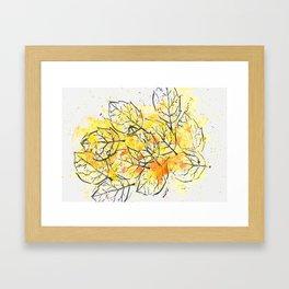 fall 1 Framed Art Print