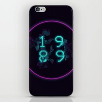 1989 iPhone & iPod Skins featuring 1989 by Alastair Temple