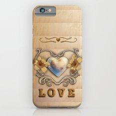Love Scrolls and Swirls iPhone 6s Slim Case