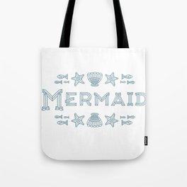 Glass Mermaid Tote Bag