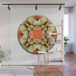 4 Point Mandala - Pumpkins & Gourds Wall Mural
