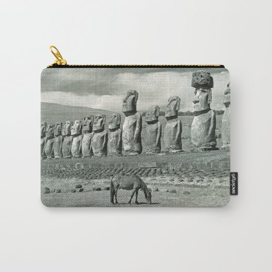 EASTER ISLAND VISTA Carry-All Pouch