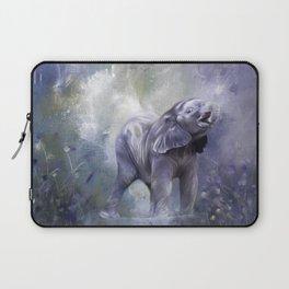 A cute baby elephant Laptop Sleeve
