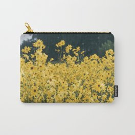 Daisies For Days Carry-All Pouch