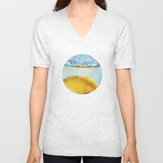 Refreshing Lemon Drink Unisex V-Neck
