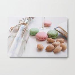 Macaroni Metal Print
