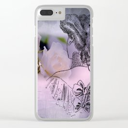 bye bye happiness Clear iPhone Case