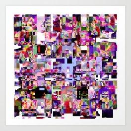 - minimal TV - Art Print
