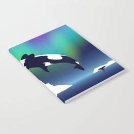 Paper Craft Orca Notebook