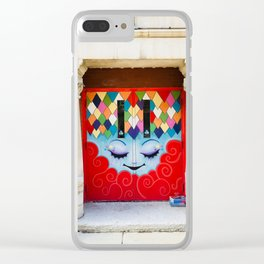 entrez s'il vous plaît Clear iPhone Case
