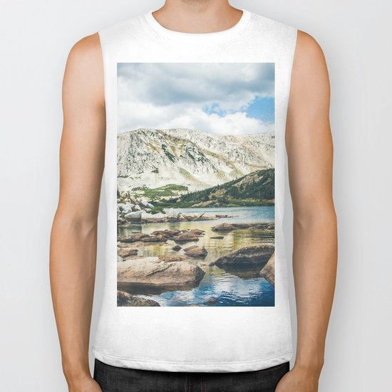 Mountain Lake 4 Biker Tank