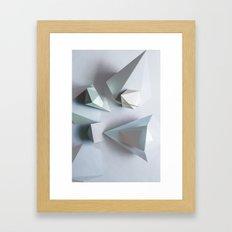 Origami #1 Framed Art Print