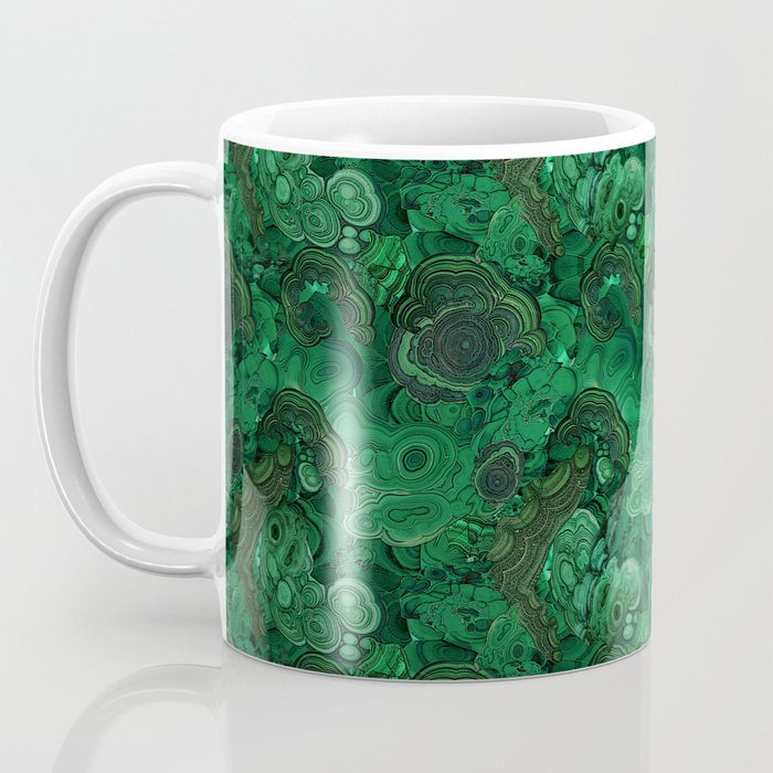 malachite Coffee Mug