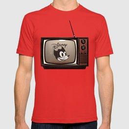 fallout Dismay cartoon on vintage tv T-shirt