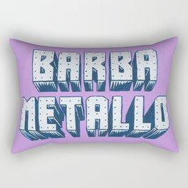 Barba Metallo Rectangular Pillow