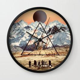 Desert Orchid Wall Clock