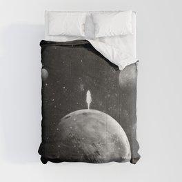 The distance of wishing.  Comforters