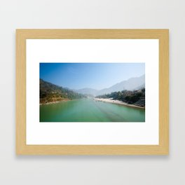 The Ganges River Framed Art Print