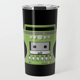 Retro Ghetto Blaster Travel Mug