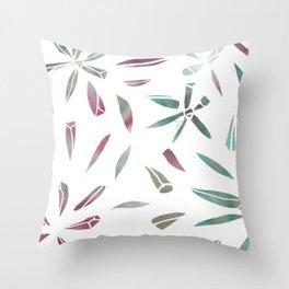 Sea-fig Illustration Throw Pillow