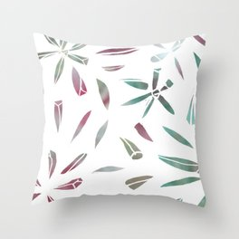 Sea-fig Illustration Throw Pillow