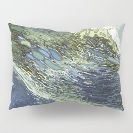 Ebb and Flow Ocean Waves Pillow Sham